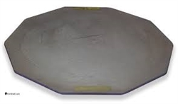 "Advancer Kiln Shelf 20"" Half 10 Sided Nitride Bonded Silicon Carbide"