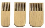 SHIMPO COMBING TOOLS SET OF 3 SWCTC16SE3