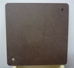 "9"" Masonite Square Bat for Potters Wheels (NE Hardboard)"