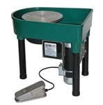"Skutt ""Professional"" Pottery Wheel 1 hp, Built-in Pan"