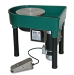 "Skutt ""Professional"" Pottery Wheel  with SSX 1 hp, Built-in Pan"
