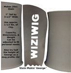 Wiziwig Potters Profile Rib Stein Makin' George