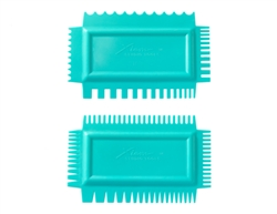 UTCAS Xiem Tools Ultimate Texture Comb A set (2)  Flex Soft