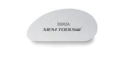 SSR2A Xiem Tools Stainless Steel Clay Rib (S)