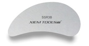 SSR3B Xiem Tools Stainless Steel Clay Rib (M)