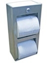 king Double Roll Toilet Tissue Dispenser - Surface Mounted
