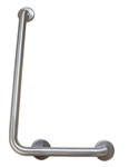Grab bar - L shape, 1.5OD, LH, Peened