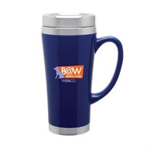 19dd8b79937e 16 Oz. Stainless Steel Fusion Travel Mug