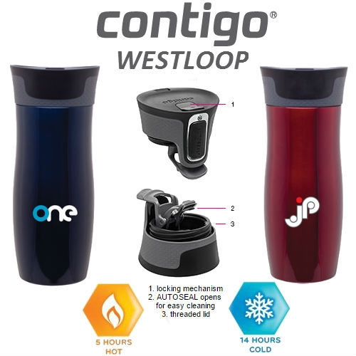 16 oz contigo westloop insulated tumbler custom contigo westloop