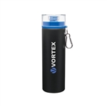 Custom 28 oz H2Go Trek Aluminum Water Bottle Matte Black