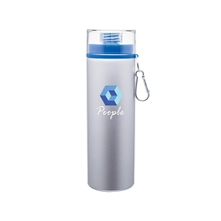 Custom 28 oz H2Go Trek Aluminum Water Bottle Silver