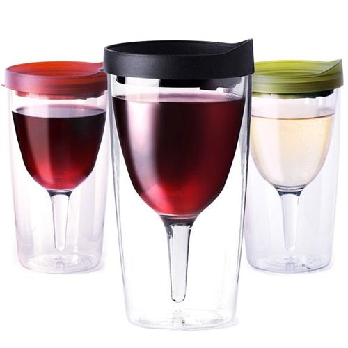 Vino2Go Wholesale Custom Tumblers Adult Wine Sippy Cups