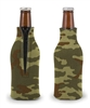 Promotional Zippered Bottle Koozie Scuba Foam