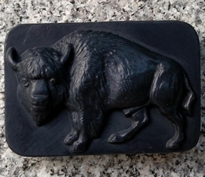 Black Forest Bar Soap - Buffalo Design