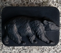 Black Forest Bar Soap - Bear Design