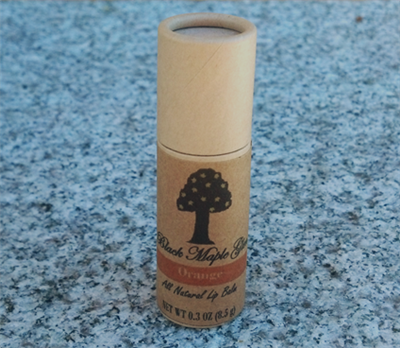 All Natural Lip Balm - Orange