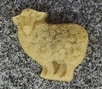 Unscented Oatmeal Soap - Sheep Design