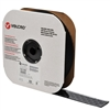 VELCRO Brand 191195 Tape On A Roll Pressure Sensitive Acrylic Adhesive Loop - 2 Inch x 25 Yards - Black