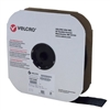 VELCRO Brand 191245 Tape On A Roll Pressure Sensitive Acrylic Adhesive Hook - 2 Inch x 25 Yards - Black