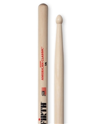 Vic Firth 1A American Classic 1A Hickory Drumsticks Wood Tips