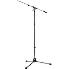 K&M 210/9 MICROPHONE STAND - NICKLE