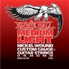 Ernie Ball 2206 Medium Light Nickel Wound w/ wound G Electric Guitar Strings - 12-54 Gauge