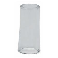 Dunlop Pyrex Flared Glass Slide Medium