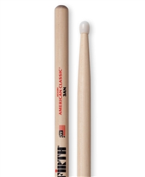 Vic Firth 3AN American Classic 3A Nylon Hickory Drumsticks Nylon Tips