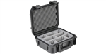 SKB 3I-0907-4B-D iSeries 0907-4 Waterproof Case (with dividers)