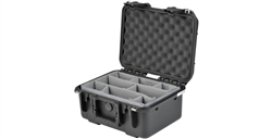 SKB 3I-1309-6B-D iSeries 1309-6 Waterproof Case (with dividers)