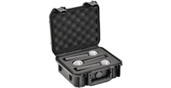 SKB 3i-0907-MC3 iSeries 0907 Waterproof Three Mic Case