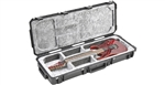 SKB 3i-4214-OP iSeries Waterproof Open Cavity Electric Guitar Case TSA Latches, With Wheels