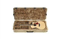 SKB iSeries 3i-4217-18-T Waterproof Acoustic Guitar Case (tan)