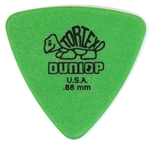 Jim Dunlop Tortex Triangle .88MM Green, Bag of 72
