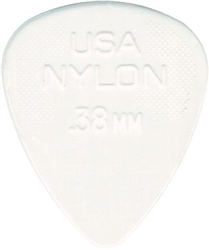 Jim Dunlop 44R.38 Nylon White 038MM, Bag of 72