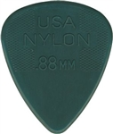 Jim Dunlop 44R.88 Nylon Dark Gray 0.88MM, Bag of 72