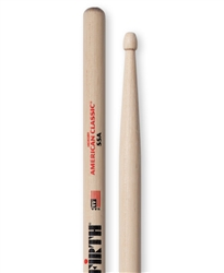 Vic Firth 55A American Classic 55A Hickory Drumsticks Wood Tips