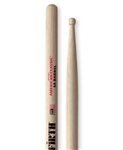 Vic Firth 5ABRL American Classic 5A Barrel Tip Hickory Drumsticks Wood Tips