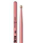 Vic Firth 5AP American Classic 5A Pink Hickory Drumsticks Wood Tips