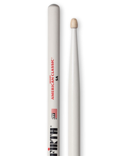 Vic Firth 5AW American Classic® 5A w// WHITE FINISH