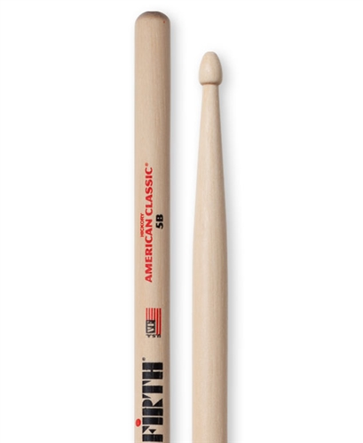 Vic Firth American Classic® 5B Hickory Wood Tip Drumsticks