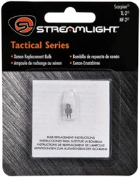 Streamlight 85914 Xenon Replacement Bulb for Scorpion and TL2 Flashlights