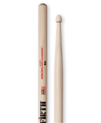 Vic Firth 8D American Classic 8D Hickory Drumsticks Wood Tips