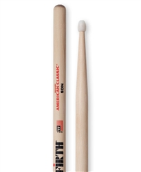 Vic Firth 8DN American Classic 8D Nylon Hickory Drumsticks Nylon Tips