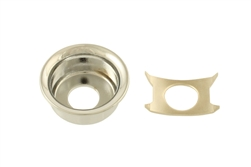 AllParts AP-0275-001 Nickel Input Cup Jackplate for Telecaster