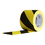 Pro Tapes Cablepath Tape 4 Inch - Yellow and Black Stripes
