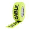 CAUTION CABLE TAPE 3 INCH