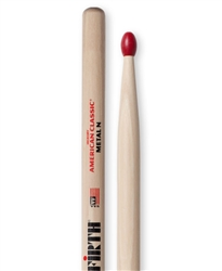 Vic Firth CMN American Classic Metal Nylon Hickory Drumsticks Nylon Tips