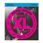 D'Addario EXL170 Nickel Wound Bass, Light, 45-100, Long