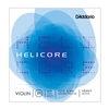 D'Addario Helicore Violin String Set, 4/4 Scale, Heavy Tension